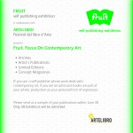 OPEN CALL > Fruit. Focus on contemporary art ad Artelibro 2012