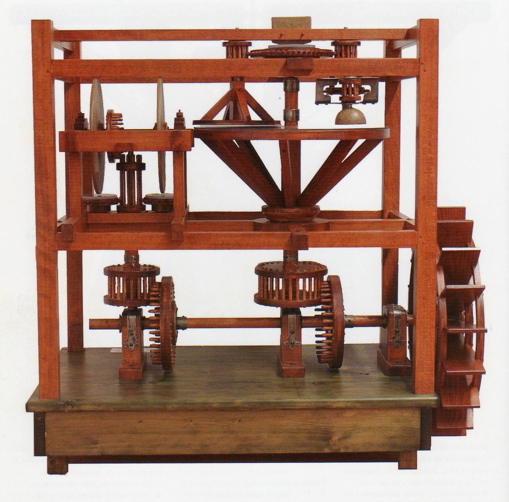 Le macchine di Leonardo Da Vinci ad Artelibro 2013