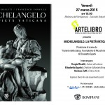 Artelibro presenta il libro MICHELANGELO. LA PIETA' VATICANA